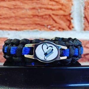 Jewelry - Police Love Paracord Bracelet